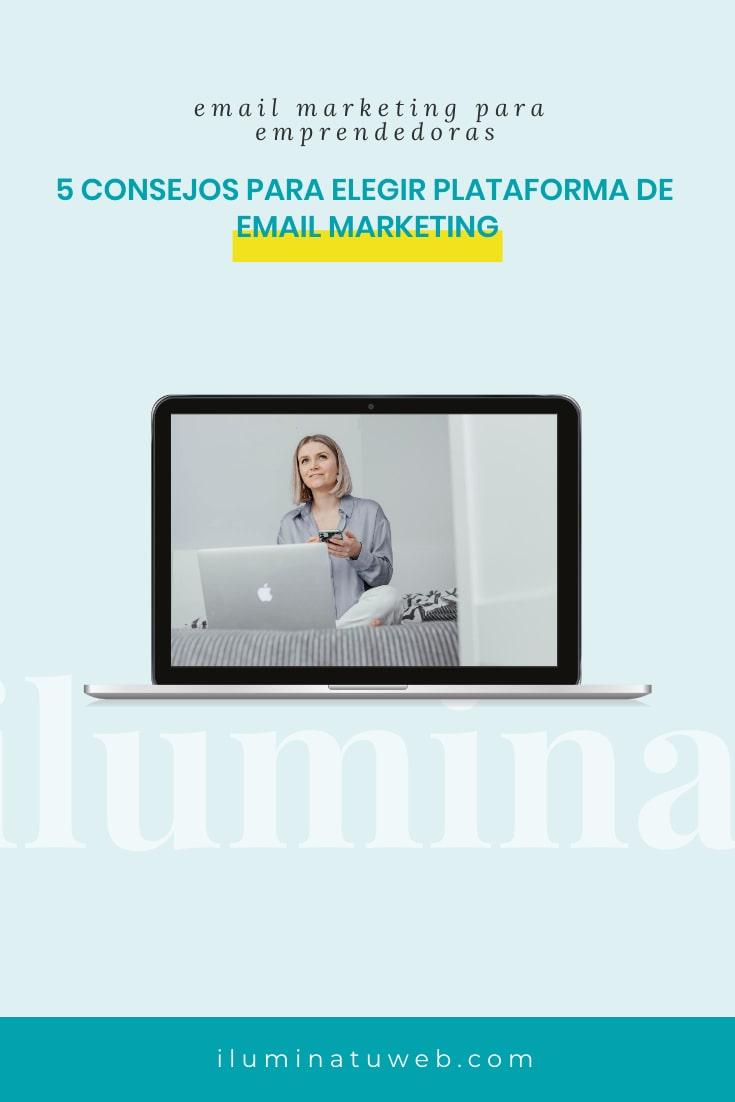 como elegir plataforma mail marketing